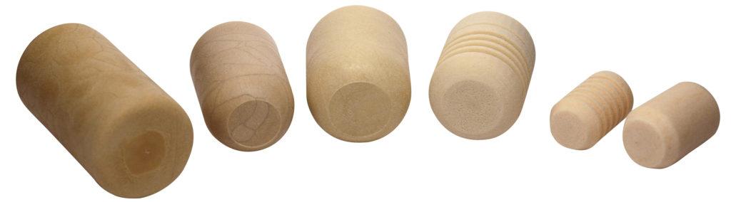Beispiele von Kunststoffkorken