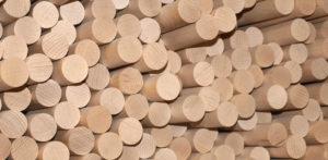 Rundstäbe aus Holz Hersteller